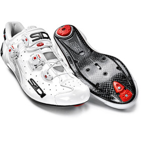 Sidi Wire Carbon Shoes Men White/White